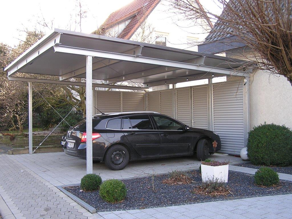 Carports vord cher s hnchen gmbh for Carport detail